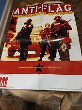 Anti Flag Underground Network 18x24 Inch Promo Poster