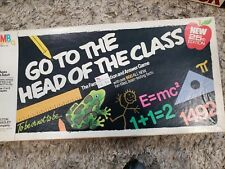 Vintage 1985 Milton Bradley Go to the Head of the Class Board Game 25th Ed. 4175