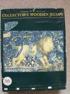 Wentworth 'The Forest' Lion Tapestry 1887 by William Morris 250 pieces