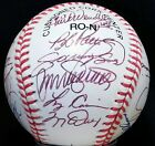 1996 Chicago Cubs Team Signed Baseball RYNE SANDBERG SAMMY SOSA JENKINS WILLIAMS
