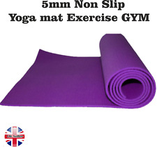 5mm  Yoga Mat Exercise/Gym/Camping purple! (174cm x 62cm)