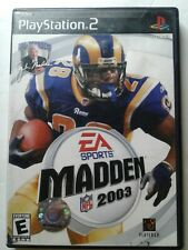 Video Game - Play Station 2 - Madden 2003 EA Sports - W/Manual Sony PS2 (VGL5)