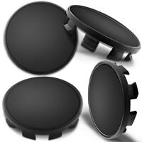 4 x Universal Wheel Centre Alloy Hub Center Caps Black 68mm Fits: 36136783536