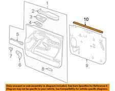 GM OEM Front Door Window Sweep-Belt Molding Weatherstrip 15138387