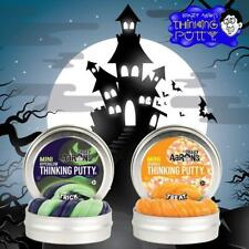 Crazy Aaron's Thinking Putty Halloween Fall Edition Trick and Treat Mini Tin Duo