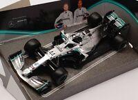Burago 1/43 Scale 18-38136 - Mercedes AMG Petronas F1 W10 EQ Power + #44