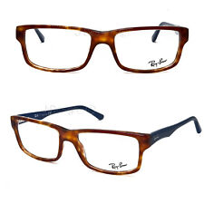 7ab9b852d2 Ray Ban RB 5245 5609 Havana Blue 54 17 145 Eyeglasses Rx Optical Authentic