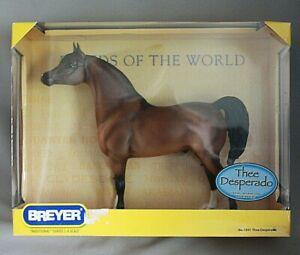 Breyer 1341 Thee Desperado Bay Egyptian Arabian Stallion Model Horse NIB