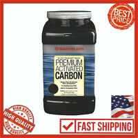 MarineLand Black Diamond Premium Activated Carbon 40 Oz Filter Aquarium Fish Med