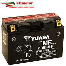 Batteria Yuasa T Max 500 04 2004 Originale YT9B-BS Yamaha Senza Manutenzione