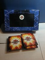 Lot of 80 Bakugan Battle Brawlers Cards And Case 36 Are Magnetic