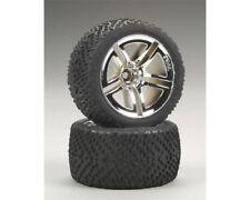 Traxxas 5573 Assembled & Glued Rear Wheels & Victory Tires Jato 2.5 3.3 Rustler