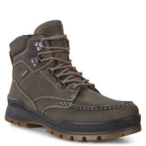 Men's ECCO Track 25 M Gore-Tex Waterproof Boot Leather Tarmac 831814 01543