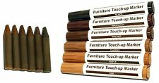 12 PIECE TOUCH UP PEN KIT SET FURNITURE REPAIR WOOD LEATHER EASY USE UK STOCK