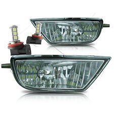 1998-2003 Sienna Fog Lights w/Wiring Kit and LED Bulbs - Clear