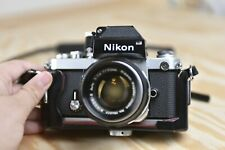 Nikon F2 w/ 50mm f1.4 Lens & Hard-Leather Case