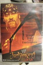 JUDGMENT DAY 2002 WWF WWE RARE DELETED OOP HTF DVD WRESTLING FILM THE UNDERTAKER