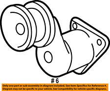 CHRYSLER OEM-Serpentine Drive Fan Belt Tensioner 53010158AC