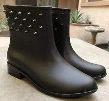 AUTH Melissa Moon Dust Special Spiked Ankle Boot Black Women's Size 7 Nordstrom