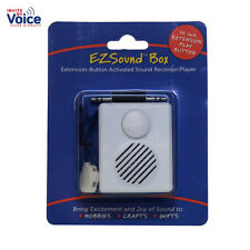 EZSound Box - 10 inch Extension Play Button for Stuffed Animals, Craft Projects