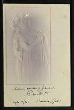 FRANCE 1722-Les Femmes Modernes-En Relief-ART NOUVEAU-New-Gaufré-Embossed-1904