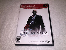 Hitman 2: Silent Assassin (Playstation 2, 2002) PS2 Greatest Hits Complete Exc!