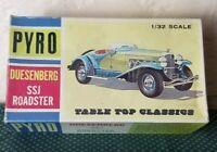 Pyro USA Duesenberg SSJ Roadster Model Car Kit C412-125 RARE