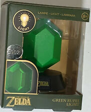 Nintendo THE LEGEND OF ZELDA: 3D Collectible Green Rupee Light Lamp •#002 | NEW