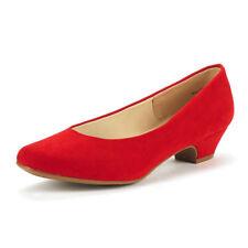 DREAM PAIRS Women's Mila Low Chunky Heel Pump Shoes
