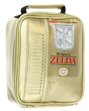 The Legend of Zelda NES Gold Video Game Cartridge Insulated Lunch Box Bag Tote