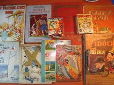 12 vintage ca1940 children books Disney Alice Aladin Mercatali Gubellini Eulalie