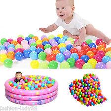 Kids Multi-Color Soft Play Balls Toy Fun Plastic Ocean Ball Random Colors 20Pcs