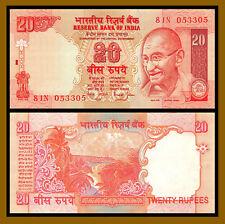 India 20 Rupees, ND 2002 P-89A Gandhi Unc