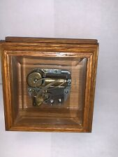 Vintage Reuge Swiss Wooden Music Box Theme From Ice Castles
