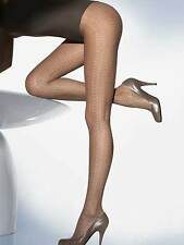 WOLFORD 167$ muriel pantyhose tights  seal gray fatal XS S 2 36 8 27
