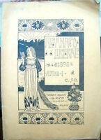 1898 ALMANACCO LIBERALE ANNO I° ASSOCIAZ. MONARCHICA