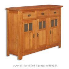Anrichte,Sideboard,Halbschrank,Küchenschrank,Weicholz,Massiv,Landhausstil/-möbel