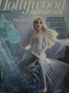 Frozen 2   OSCAR AD Elsa on Horse Hollywood Reporter cover  RARE