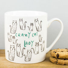 New Creative Tops Crazy Cat Lady Cartoon Kitty Cats Personalised Gift China Mug