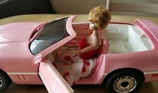 """1990's Vintage Petra Barbie Pink Corvette 21"""""""