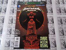 Batman and Robin (2011) DC - #13, Gotham Overrun By Zombies, Tomasi/Gleason, VF-