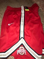 Ohio State Buckeyes Nike Replica On Court Basketball Shorts XL Red