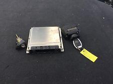 G MERCEDES BENZ W211 E320 DME EWS ECU KEY IGNITION ENGINE COMPUTER OEM LOCK  N