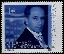 SELLOS MUSICA AUSTRIA 2004 2293 JOSE CARRERAS ( TENOR) 1v.