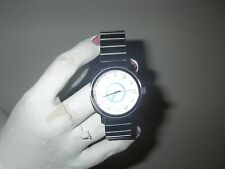 Paul Frank Men's silver tone water watch resistant never worn new battery NICE