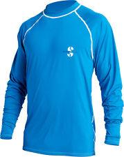 ScubaPro Men's Long Sleeve Loose fit Rash Guard-LG Blue
