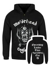 Motorhead Hoodie England Zipped Men's Black