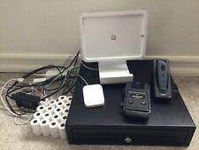 LOT Square register POS system + barcode scanner + receipt printer + cash drawer