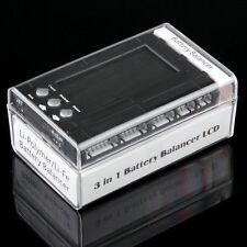 3 in 1 LCD Discharger Balancer Meter Tester for 2-6S lipo Li-Fe battery BR