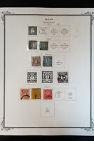 Japan 1800s to 1970s Strong High-Value Stamp Collection Includes Mihons